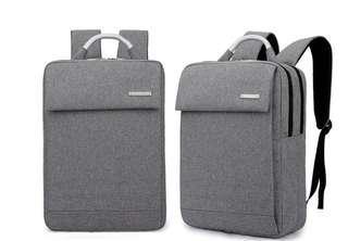 Grey Laptop Everyday Backpack