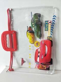 Lightning McQueen transparent zipper bag