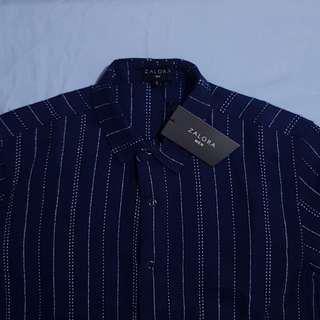 Zalora® Vertical Striped Polo