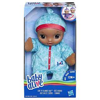 Baby Alive: Love My Blankie Baby - Green (0780)