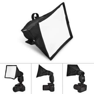 Photography Accessories 15*17cm Portable Multifunctional Soft Box Kit Mini Softbox For Flash Gun Speedlight