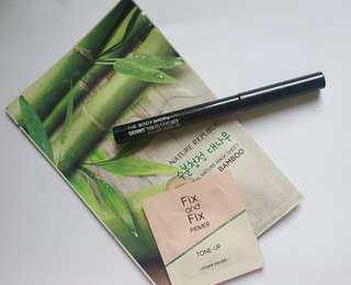 SALE: The Body Shop Skinny Felt Eyeliner with FREE sheet mask and primer