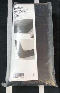 IKEA Dvala Black Fitted Sheets