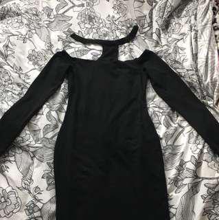 Mossman long sleeve bodycon dress