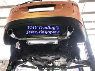 Returned Volvo XC T5 Owner from Jetex exhaust system previously for Koni FSD dampers (self adjustable feature damper) upgraded with original spring setup for optimise street driving ride with handling improvement and comfort not compromised.