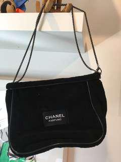 Chanel parfume shoulder bag