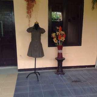 Dress army color size S