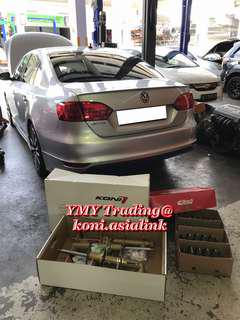 Jetta Owner 1.4tsi Single charge turbo in the house and upgraded Koni FSD (Self adjustable damping feature absorber )Eibach Pro kit set for optimise street driving style with handling improvement and comfort level retains..