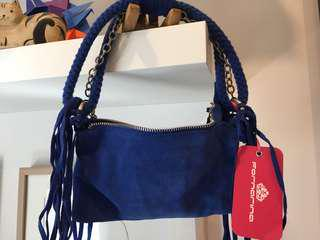 Formarina electric blue should bag