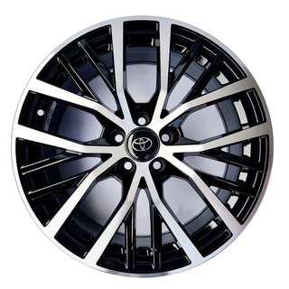 "17"" 5x100 Rims Fits Toyota altis, Wish, sienta"