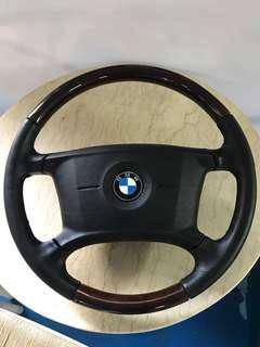Bmw E36 Classic pine wood steering wheel
