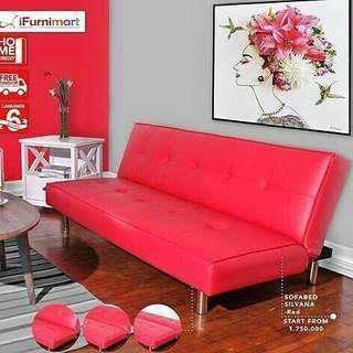 Sofa bed Silvana bisa kredit tanpa Bunga dan DP