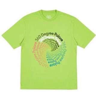 Palace 360 Degree Tee / T Shirt Lime Green