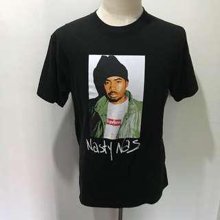 "INSTOCKS Black ""Nasty Nas"" Tee"