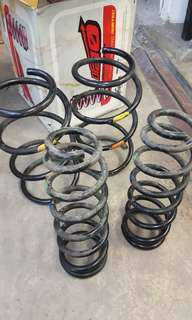 Toyota Wish Spring suspension.