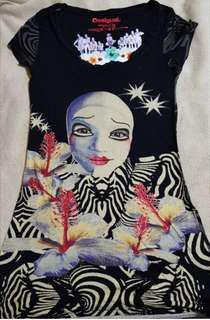 Desigual limited edition Cirque du Soleil shirt