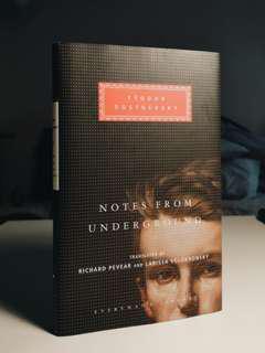 BN Notes from Underground by Fyodor Dostoevsky