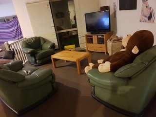 Lounge , tv unit , coffe table,  46 inch lcd tv