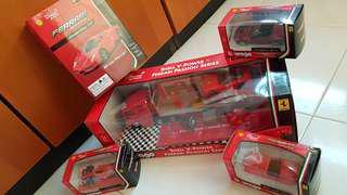 (Left 3) Ferrari Race & Play set
