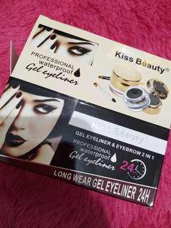 Eyebrow + eyeliner 2in1