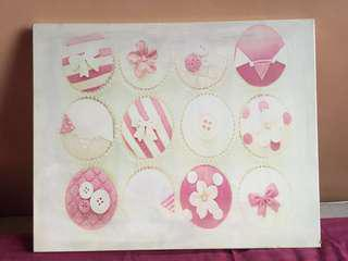 Cute Cupcake Wall Art (Free Delivery within Metro Manila)