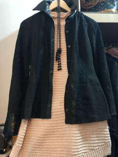5351 Pour Les Femme Black Jacket/ Blouse