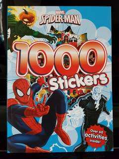 Marvel Heroes Spider Man Activity Book