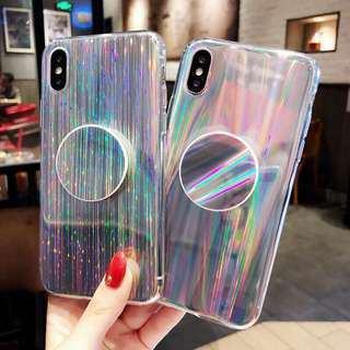 Holo marble iphone case