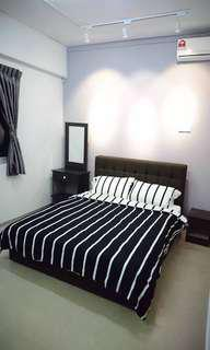 AC furnished room, partial furnished