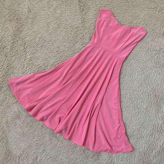 🚚 Pink Tube Dress