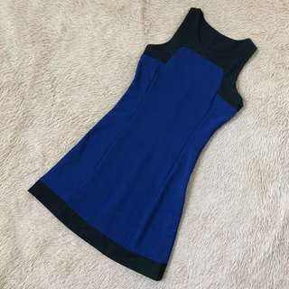 🚚 Cobalt Blue Work Dress