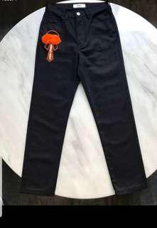 Authentic Brand New with Tags. Fendi Jeans in black. Boyfriend Cut