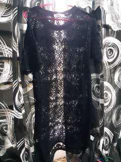 Lace Short Dress