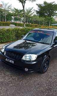 Hyundai accent 1.5manual 2008/2009