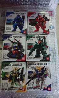 Gunsdam Converge #11 full set of 6