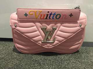 Louis Vuitton pink new wave bag