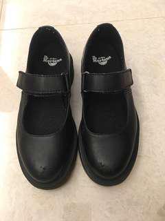 黑色返學皮鞋 Dr Martens
