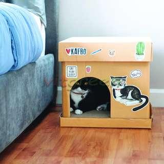 Scratch Broad Cube Ginger Cat