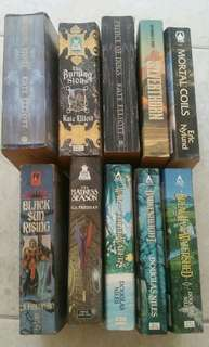 Science fiction and Fantasy fiction for sell