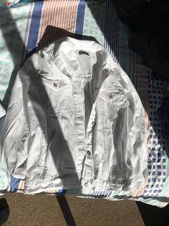 Oversized boyfriend jacket