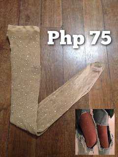 Rhinestone Crystal Fishnet Stockings (Beyonce Stockings)