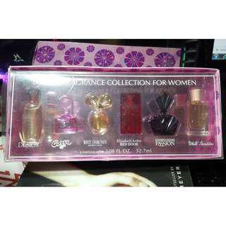 SET Deluxe Fragrance collection for women (Mini perfumes)