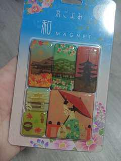 Cheapest set of magnets from Kyoto