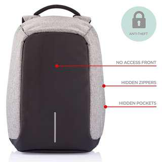 INSTOCKS Anti-Theft Backpack Laptop Bag Local Use Traveling Use