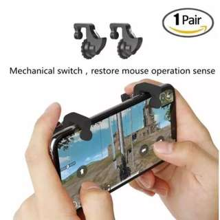 1pair Phone Game Trigger Mobile Fire Button Controller PUBG