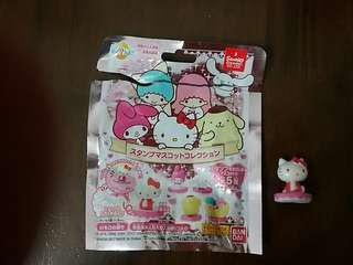 2017 年 sanrio hello kitty 浴球 印章 正版 購自日本 日本限定 For sale in japan only