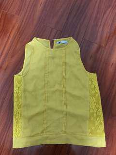 Temt Yellow Tank Top ⭐️