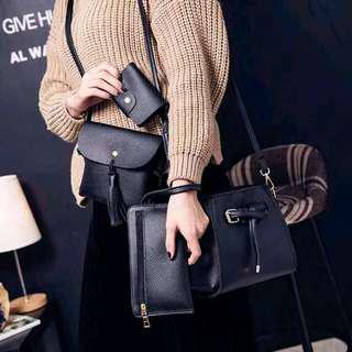 Korean 4In1 Sling Bag