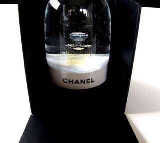 最後一個 清貨勁減 Chanel No 5 香水 水晶球 Perfume Snowball