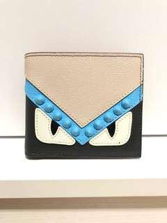 Fendi monster bi-fold wallet (inspired)